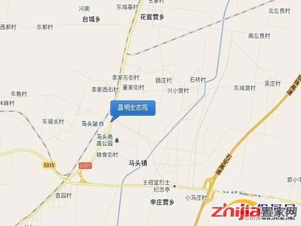 紫源·京珠花园 交通图