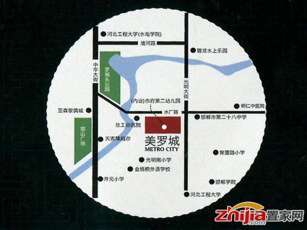 美罗城 交通图