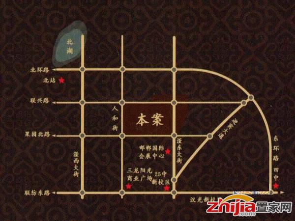 顺田·君邑 顺田交通图