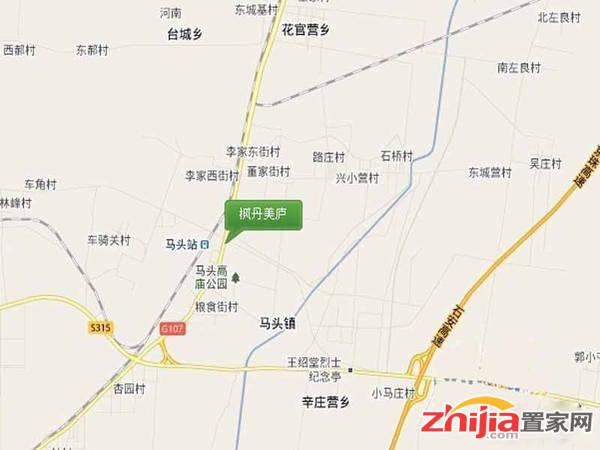 枫丹美庐 交通区位图