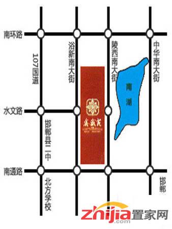 万聚·鑫盛苑 交通图