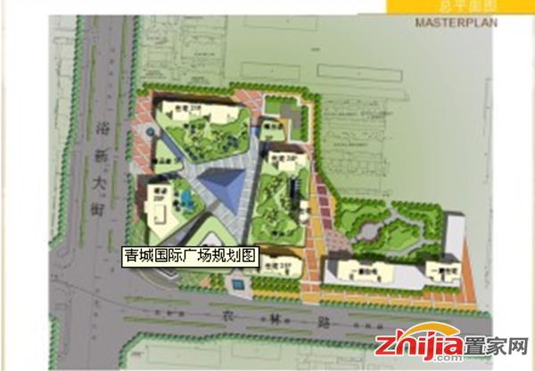 青城国际广场 交通图