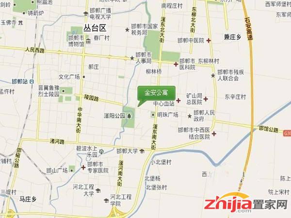 金安公寓 交通图
