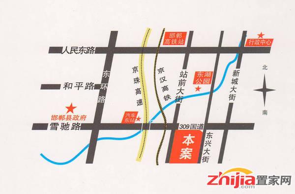 新兴时代广场 交通图