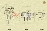 卓达·香水海一期英伦湾4室3厅3卫户型图