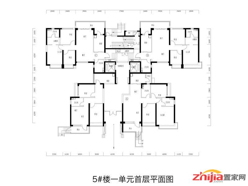 恒大御景半岛户型图(1/29张)