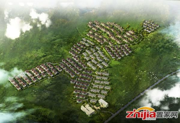 亿城·上山间 鸟瞰效果图