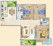 锦绣江南3室3厅2卫户型图
