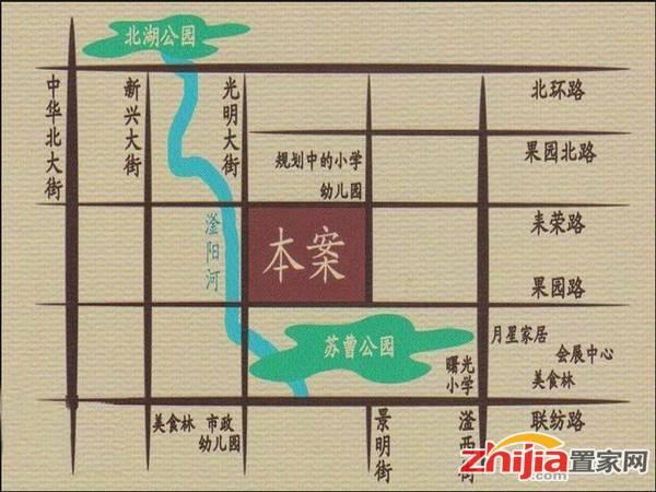 杰辉·枫景华庭 交通图