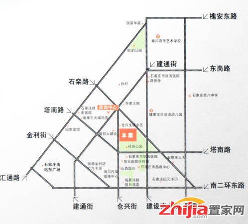 中谋壹品公馆 交通图