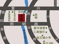 钢苑新区 交通图