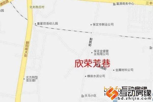 欣榮芳巷 區位圖
