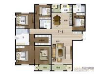 华中国宅华园5室2厅3卫户型图