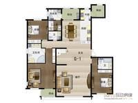 华中国宅华园6室4厅6卫户型图