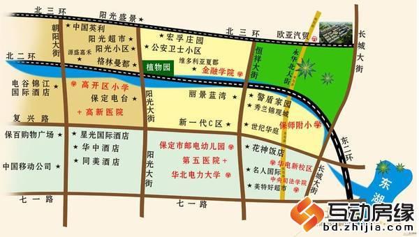 世纪新城二期 区位图