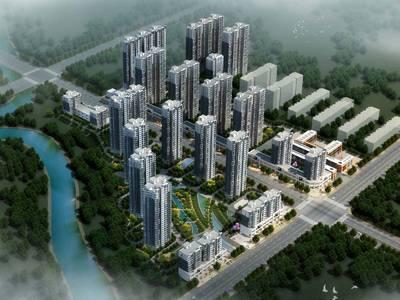 现代海棠湾施工稳步推进