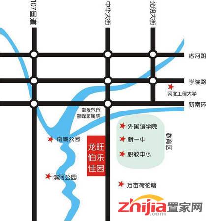 龙旺·伯乐佳园 交通图