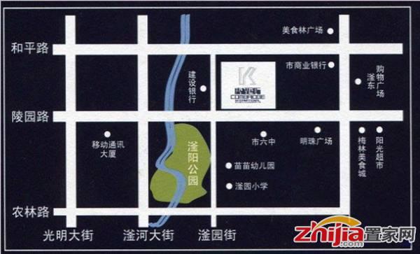 康桥国际 康桥国际区位图