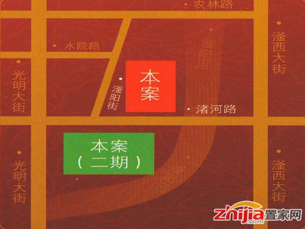 东信·华茂府 交通图