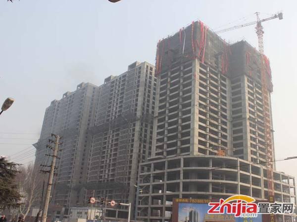 金业国际大厦 金业国际大厦写字楼住宅已全部封顶(2013.2.21)