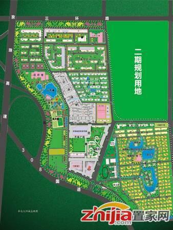 卓达·太阳城 规划图