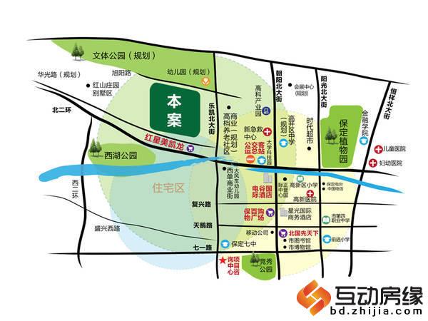 上林风景 区位图