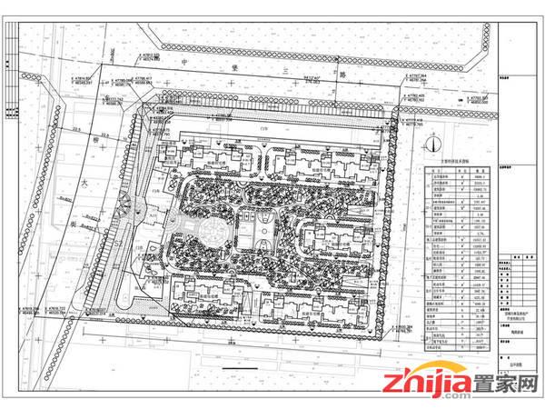 陶然新城 项目规划公示图