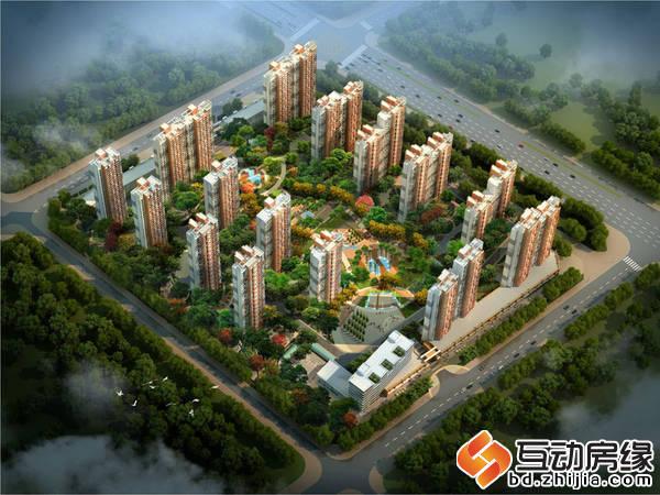 上林风景 鸟瞰图