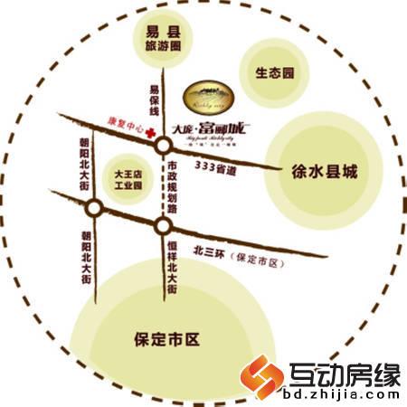 富郦城 交通图