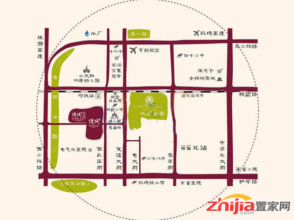 雍和·慢城 区位图
