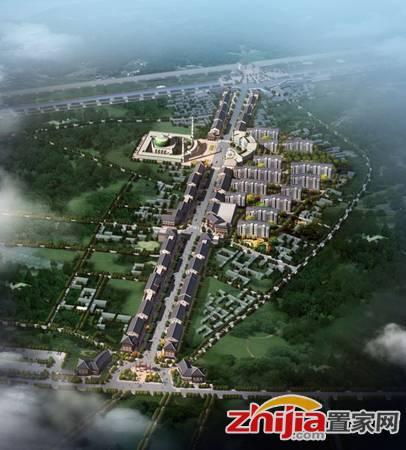 金鼎风情街世纪城 金鼎商业街·世纪城花园鸟瞰图