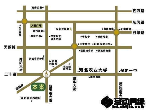 浩正·渼林湾 交通图