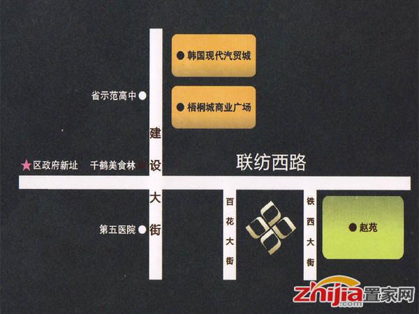 锦玉·鑫旺国际大厦 交通图