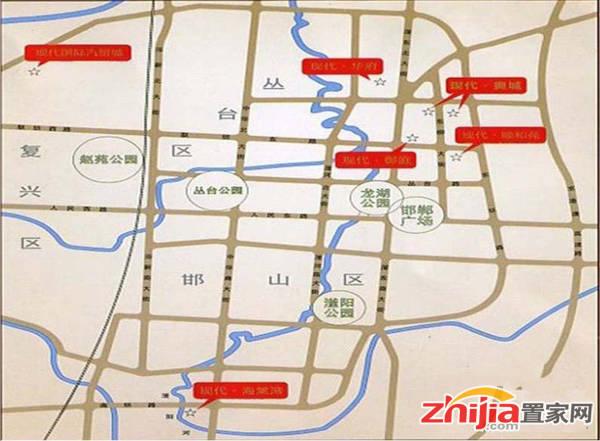现代滏阳原著 交通图