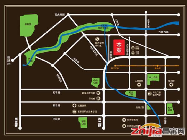 天河悦城 区位图