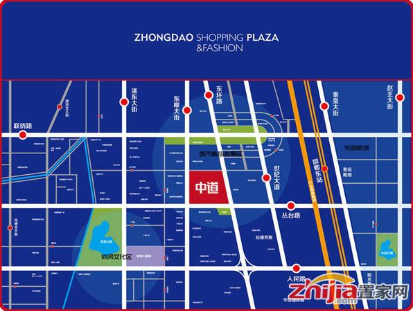 中道大厦二期 交通图