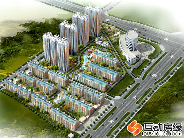 博鑫青年城三期 鸟瞰图