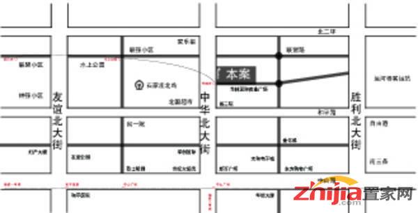汉和商务大厦 区位图