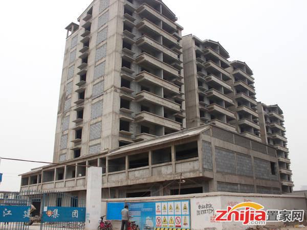 御景苑 项目已封顶正在二次结构(2014-04-10)