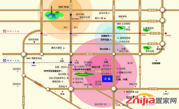 天宁·小筑 区位图