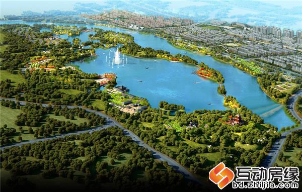 御夏山水城 項目鳥瞰圖