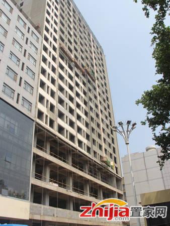 恒亿大厦 正在进行外立面粉刷(2014-05-22)
