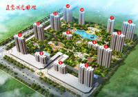 建业·阳光国际 效果图