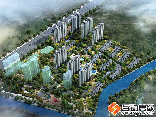 苏堤杭城 鸟瞰图