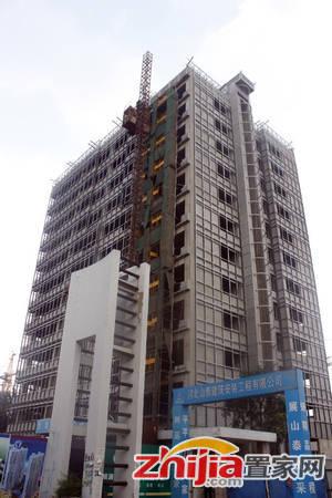 印象东城 正在进行外立面作业。2014-07-08