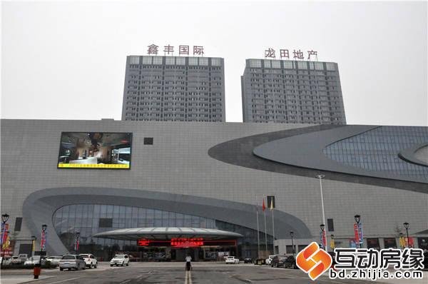 鑫豐國際 東座、西座外體均已完工。