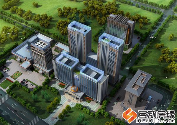 中博国际广场 鸟瞰图