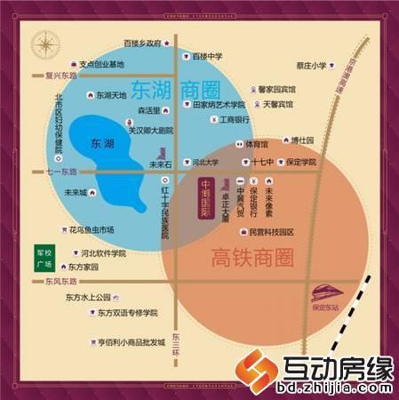 中博国际广场 交通图