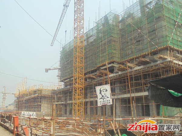百家新城·先锋苑 6#楼在建地上7层