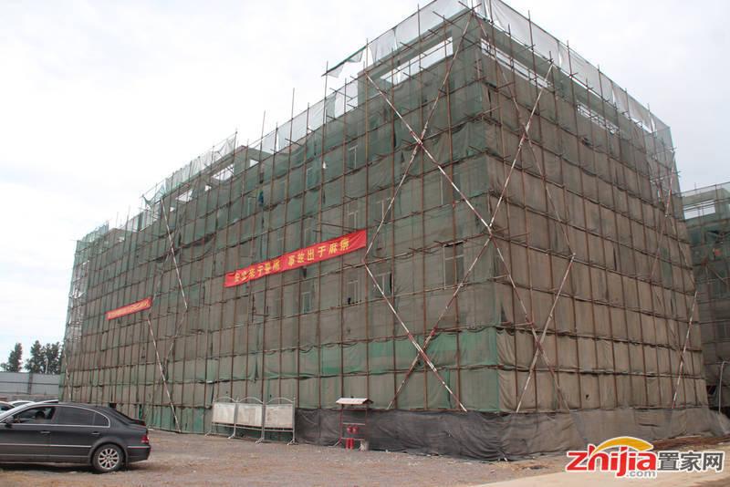 (绿岛)恒信国际产业园工程进度